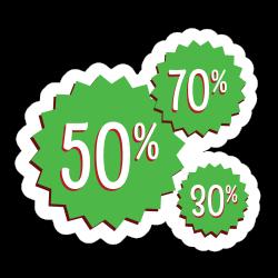 Sticker florale mandala