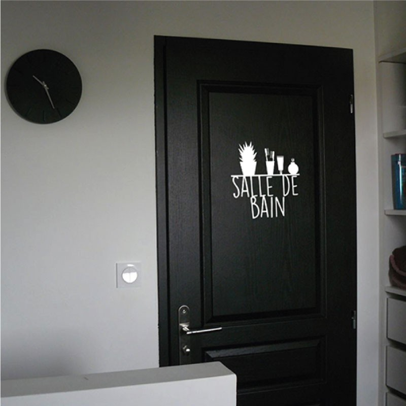 stickers chat fleurs