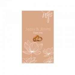 stickers murale plante végétale