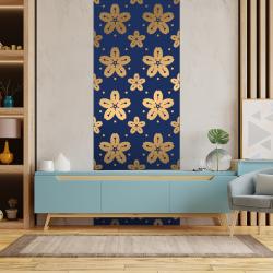 sticker love floral ornement