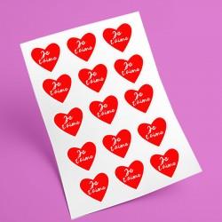 sticker tête de vache